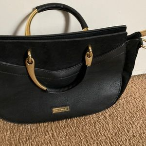 Call it Spring Black two handle bag